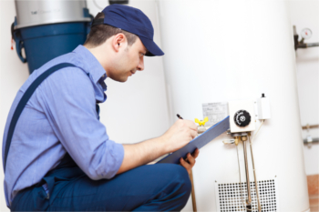 water heater maintain